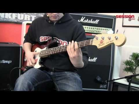 FENDER American Special Jazz Bass RW 3TS