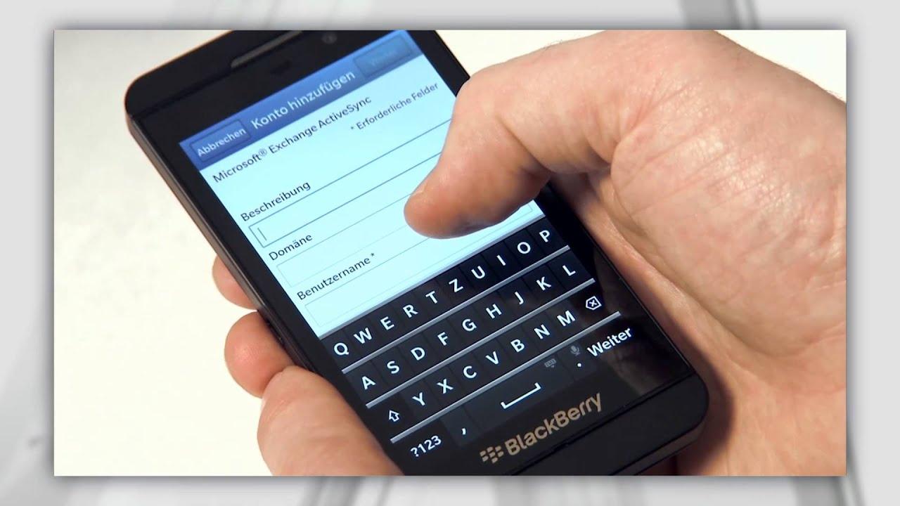 BlackBerry Enterprise Service am BlackBerry Z10 einrichten
