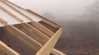 Крыша дома, видео о гидро- пароизоляционной плёнке(, 2013-11-17T10:27:02.000Z)