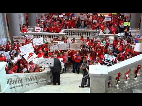 Kentucky Teachers Rally for Education Funding