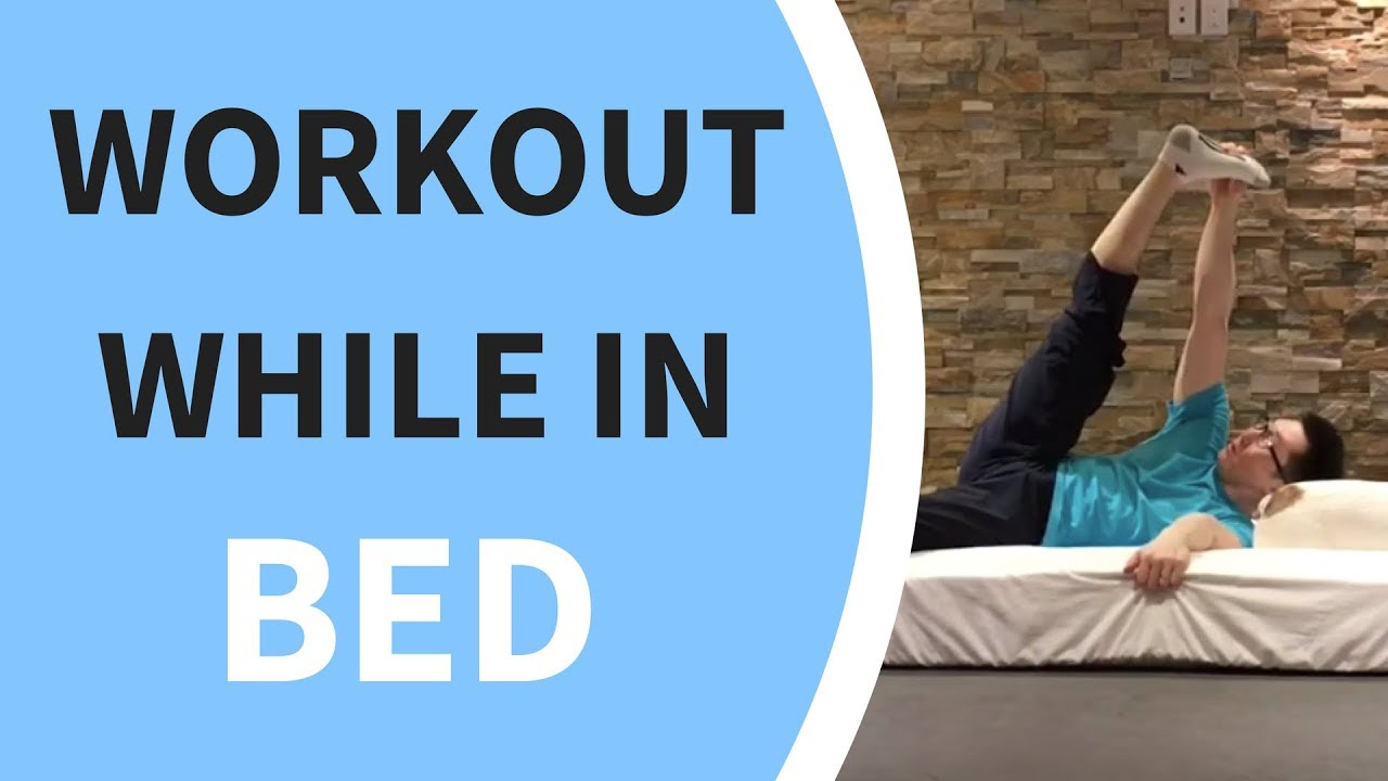 workout you can do in bed youtube. Black Bedroom Furniture Sets. Home Design Ideas