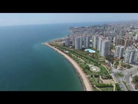 Mersin Sahil Drone Çekimi 1