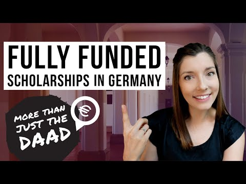 EVERYWHERE YOU NEED TO APPLY for Scholarship Funding in Germany