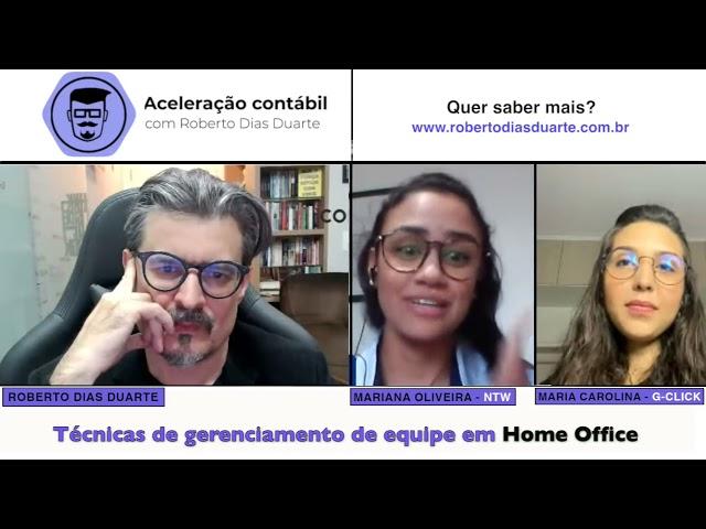 Técnicas de gerenciamento de equipe em home office - com Carol Mochdeci e Mariana Oliveira