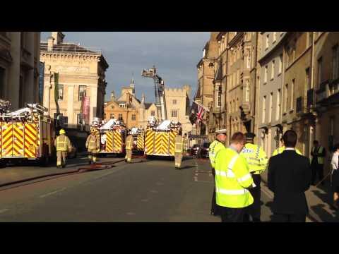 Randolph Hotel fire scene