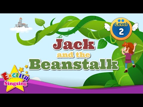 Jack and the Beanstalk - Fairy tale - English Stories  (Reading Books)