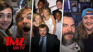 Jack Black Had A School Of Rock Reunion! | TMZ TV
