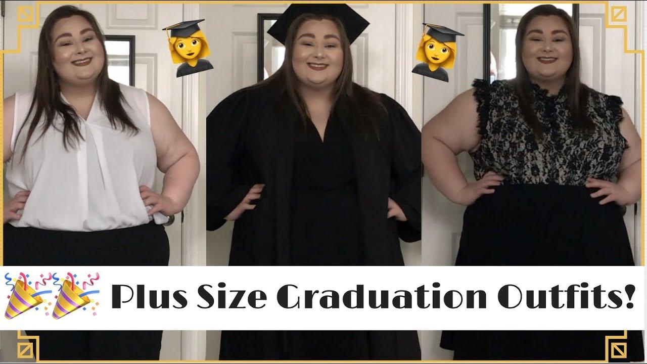 Plus Size Graduation Dress