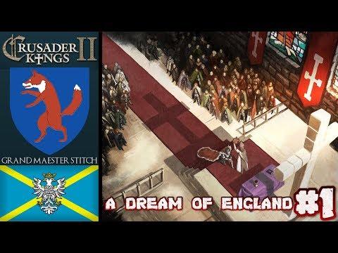 CK2 | A Dream Of England #1 | My Home City