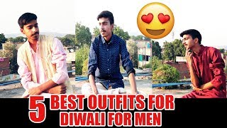 5 Best Outfits To Wear On Diwali | Traditional Wear For Indian Men