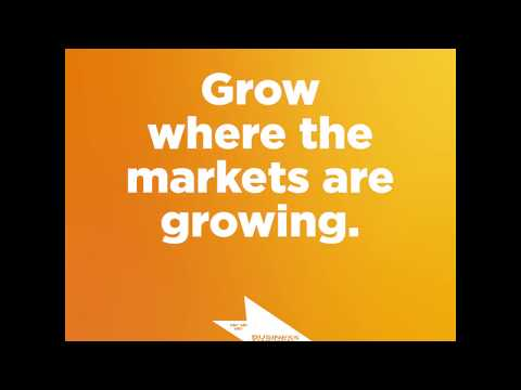 Grow where the markets are growing