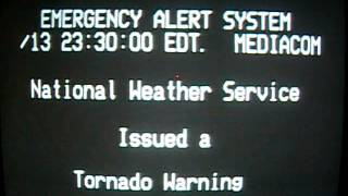 TORNADO WARNING FOR SUSSEX COUNTY, DELAWARE JUNE 10, 2013