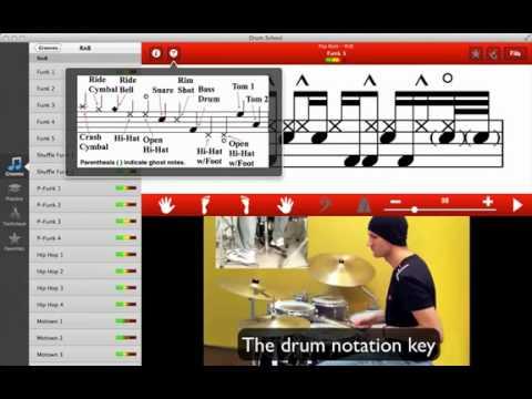 Drum School 2.0 Mac App Demo