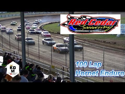 $1500 to win 100 Lap Hornet Enduro July 26th 2018 Red Cedar Speedway