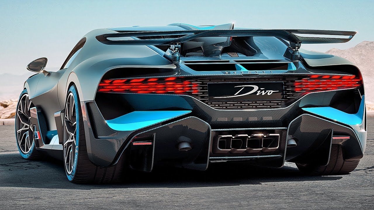 5 8m Bugatti Divo 2019 The Best Hypercar