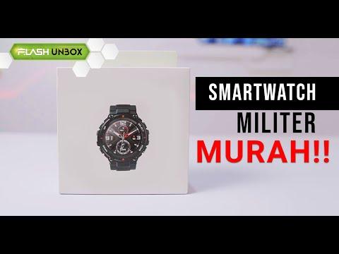 Mirip G-Shock !! Unboxing Smartwatch Amazfit T-Rex