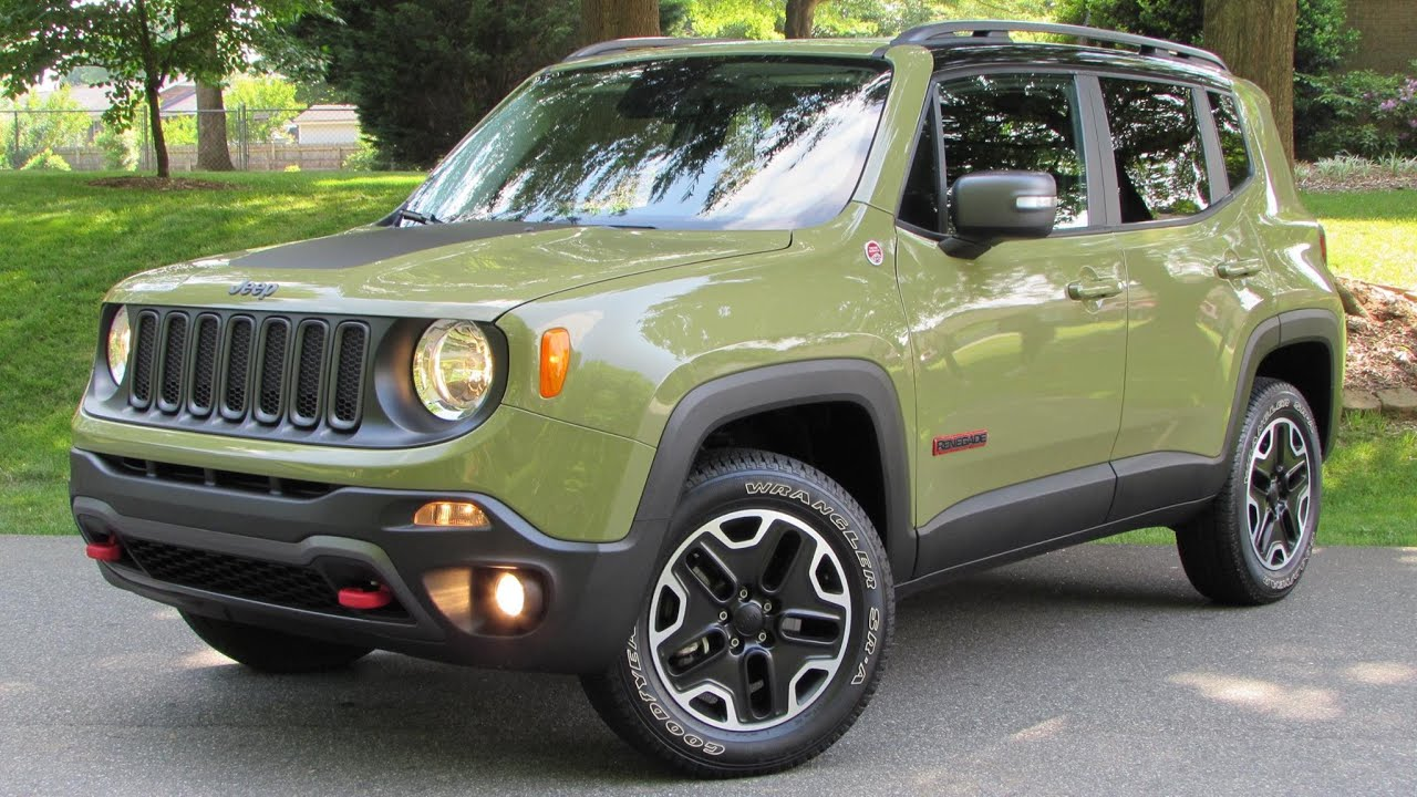 2015 Jeep Renegade Trailhawk Start Up Road Test And In