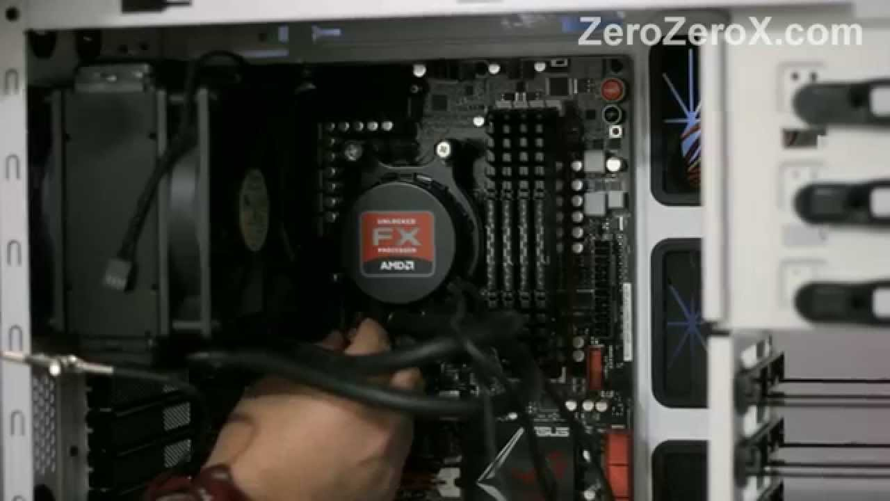 How To Install The Liquid Cooling Kit On The AMD FX-9590, AMD FX-9370 and  AMD FX-8150 CPUs stock