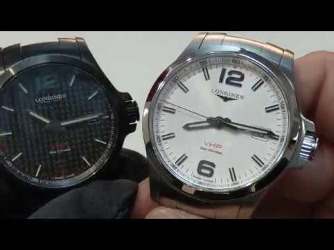 【年誤差5秒內】LONGINES 浪琴 Conquest 征服者系列 V.H.P. 腕錶