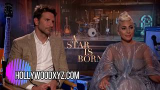 Lady Gaga and Bradley Cooper A Star is Born Interview