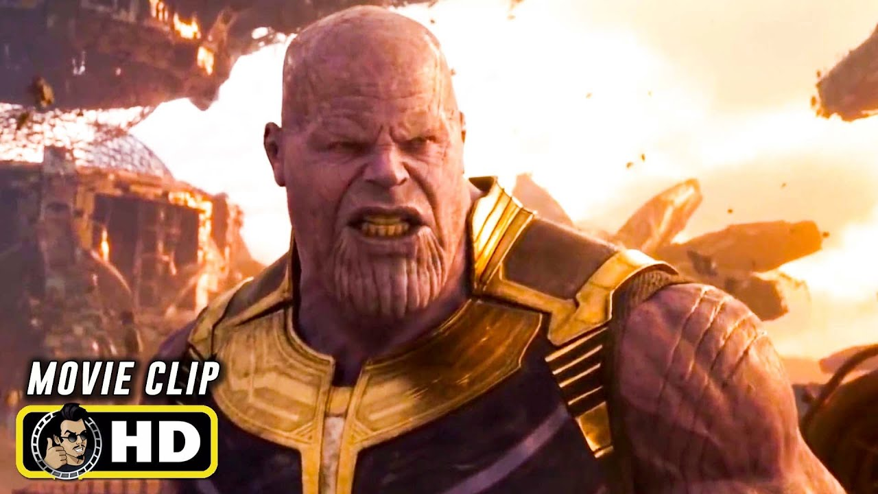 """Download AVENGERS: INFINITY WAR Clip - """"Thanos vs Everybody"""" (2018) Marvel"""