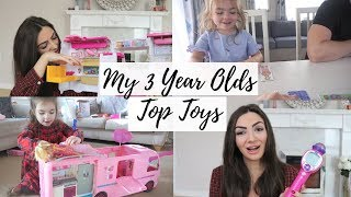 My 3 Year Olds Top / Best Toys | Toddler/preschool Gift Ideas | Barbie, Kidi Superstar, Orchard Toys