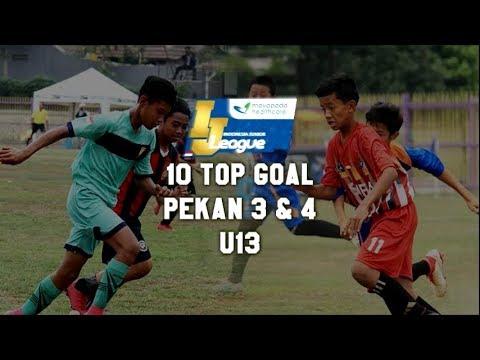 Top 10 Goal Indonesia Junior Mayapada League pekan ke 3 & 4 [U13] 2018