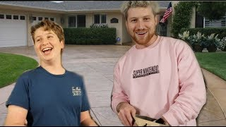 LITTLE BROTHER SURPRISES ME WITH NEW CAR!!