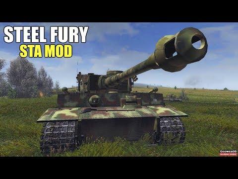 "Steel Fury Kharkov 1942 The N Power Campaign ""Berezovets"" Mission 7 Pz.VI Tiger Tank"