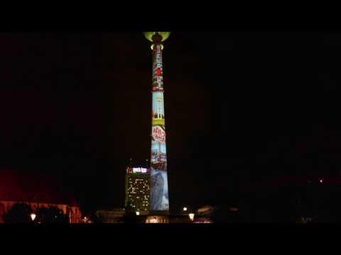 "Festival of Lights 2016 ""We love Berlin"""