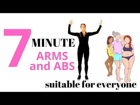 7 MINUTE WORKOUT WITH ARM EXERCISES FOR WOMEN AND AB WORKOUT AT HOME WORKOUT | LUCY WYNDHAM-READ