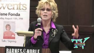 Reel Gay TV:  Jane Fonda 'Prime Time' book signing in Los Angels