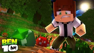 Minecraft: BEN 10 - ENCONTREI O PODEROSO OMNITRIX!! #01