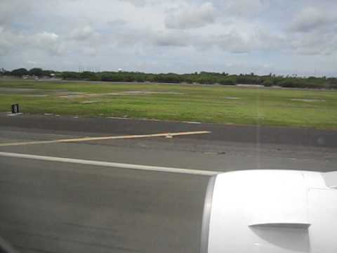 Hawaii Honolulu  International airport  HAWAIIAN AIRLINE Landing