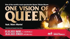 One Vision of Queen feat. Marc Martel | 01. + 26.02.2021, Basel / Zürich