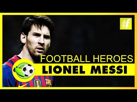 Lionel Messi | Football Heroes | Full Documentary