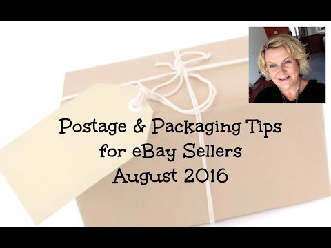 Postage & Packaging Tips for Ebay Sellers