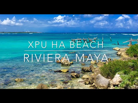 Xpu Ha Beach In The Riviera Maya