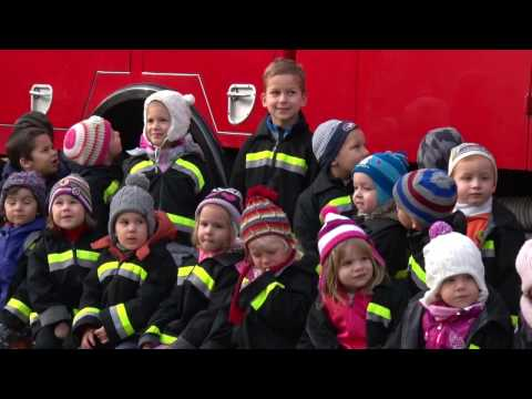 Tűzoltók a Leányka Tagóvodában - Promontor Televízió