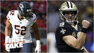 Bears can go to New Orleans and beat Saints in playoffs - Louis Riddick | First Take