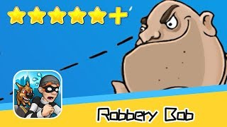 Robbery Bob™ Chapter 2 NINJA CUIT Part 5 Walkthrough New Game Plus Recommend index five stars+