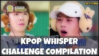 KPOP Whisper Challenge Compilation