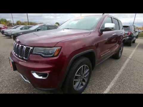 2019 Jeep Grand Cherokee Limited 4x4 - Used SUV For Sale - Hudson, WI