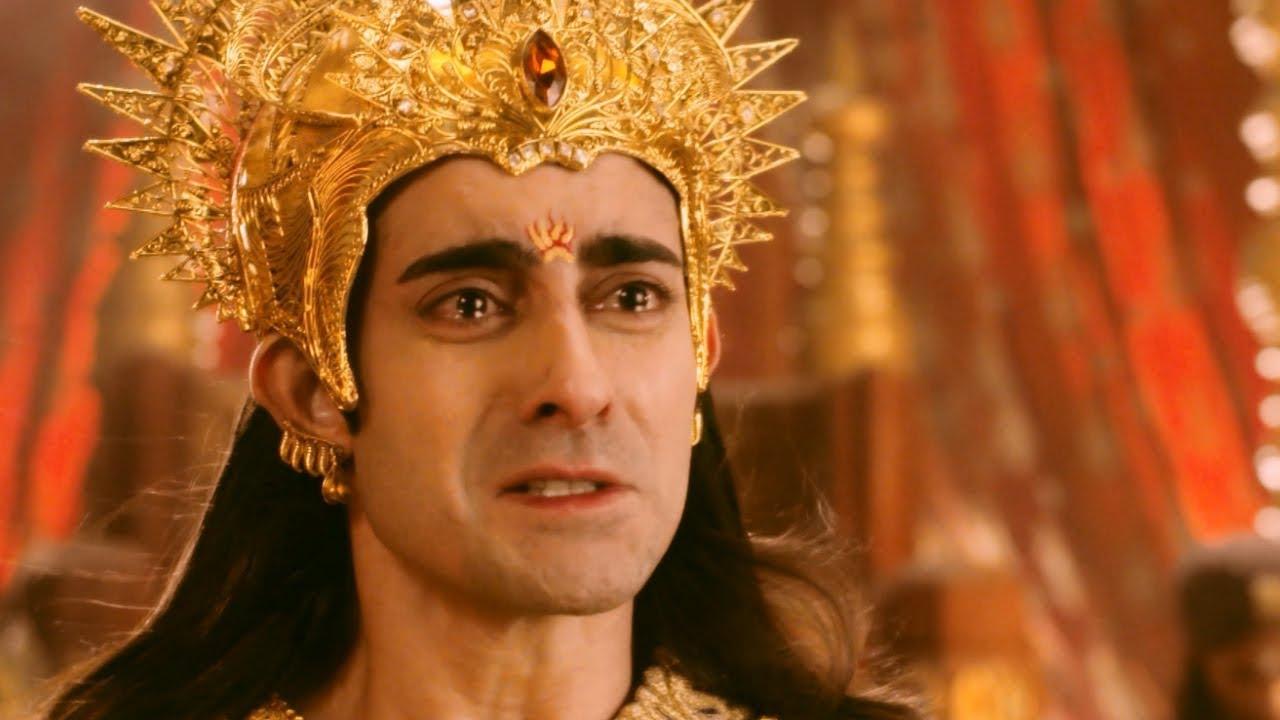 Karnan | Karnan stands helpless on Draupadi | Mazhavil ...