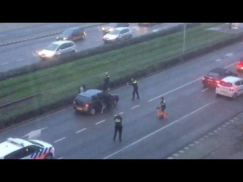 Vuurwapengevaarlijke bestuurder 'mislukte