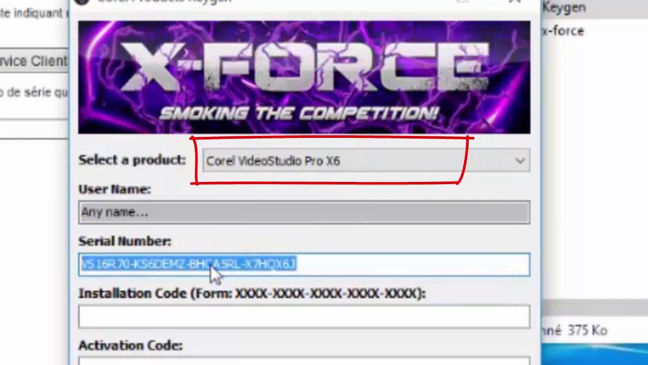كراك برنامج Corel VideoStudio Pro X6 مع كيفية التفعيل مجاني / Keygen-XFORC