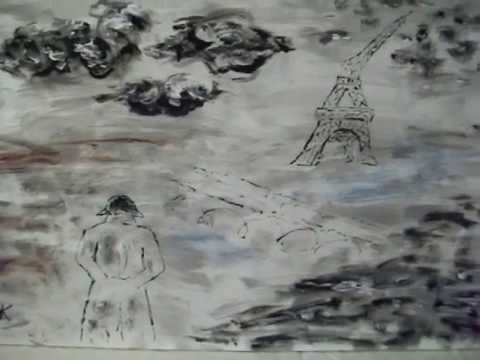 "Acrylbilder - ""The Fall of Europe"" - Bild und Musik"