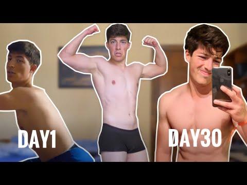 100 piegamenti, 100 addominali, 100 squat e 10km di corsa per 30 giorni! One Punch Man Challenge