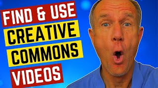 How To FIND And USE Creative Commons Videos On YouTube (without copyright claims)