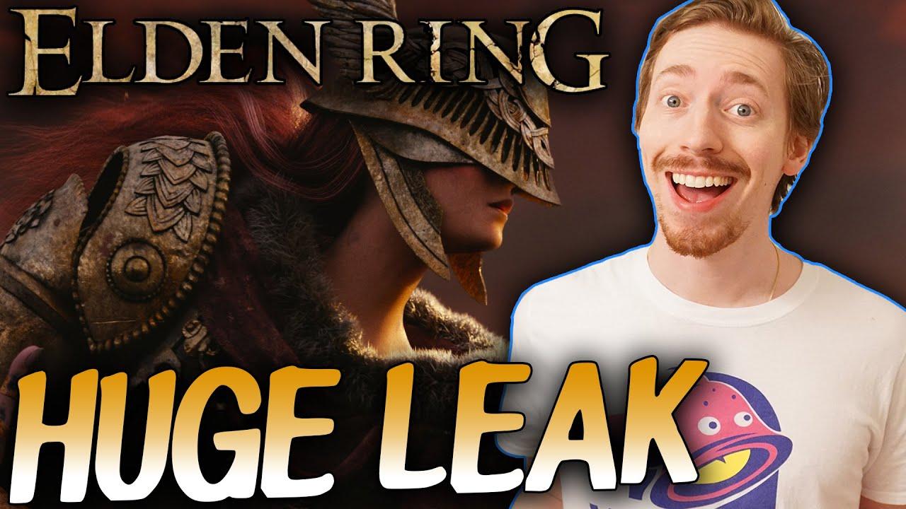 Elden Ring trailer appears to leak online